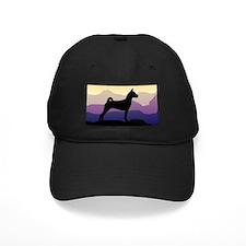 Basenji Purple Mountains Baseball Cap