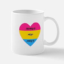 Hearts Not Parts Mugs