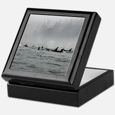 Passing Whales Keepsake Box