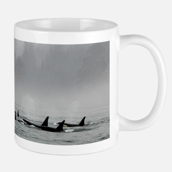 Passing Whales Mugs