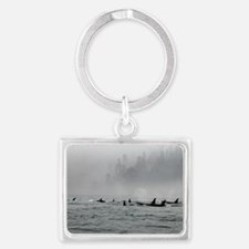 Passing Whales Keychains