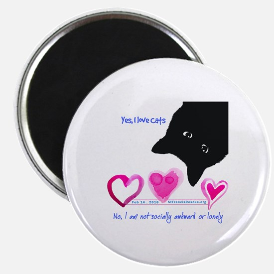 Funny Feral cats Magnet