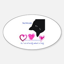 Cool Feral cats Decal