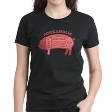 Porkaholic Women's Dark T-Shirt