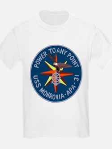 USS Monrovia (APA 31) T-Shirt