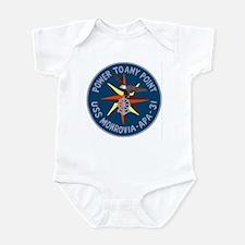 USS Monrovia (APA 31) Infant Bodysuit