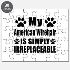 My American Wirehair cat is simply irreplac Puzzle