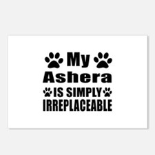 My Ashera cat is simply i Postcards (Package of 8)