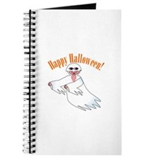 Happy Halloween Ghost Journal
