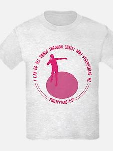 SHOT PUT - PHIL.4:13 T-Shirt