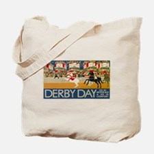 Vintage poster - Derby Day Tote Bag