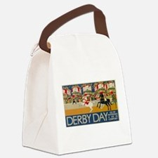 Vintage poster - Derby Day Canvas Lunch Bag