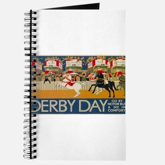Vintage poster - Derby Day Journal
