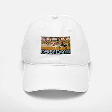 Vintage poster - Derby Day Baseball Baseball Cap