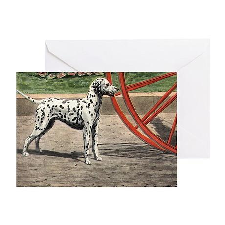 Dalmatian Art Greeting Card