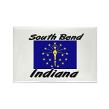 South Bend Indiana Rectangle Magnet
