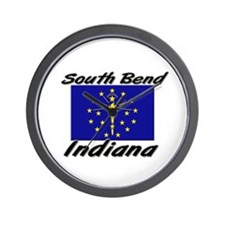 South Bend Indiana Wall Clock