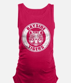 Bayside Tigers Retro Circle Maternity Tank Top