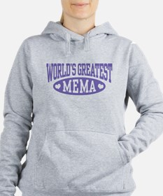 World's Greatest Mema Women's Hooded Sweatshirt
