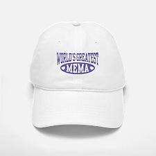World's Greatest Mema Baseball Baseball Cap