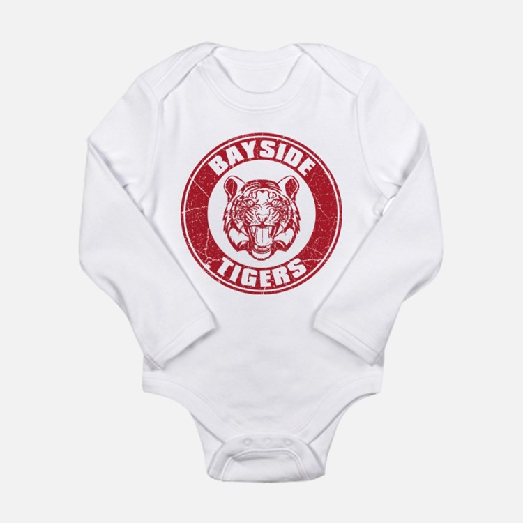 Bayside Tigers Retro Circle (Light) Body Suit