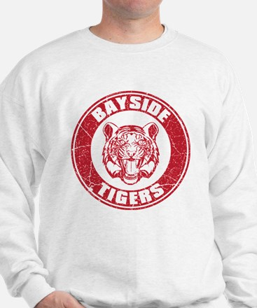 Bayside Tigers Retro Circle (Light) Sweater