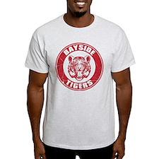 Bayside Tigers Retro Circle (Light) T-Shirt