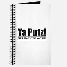 Ya Putz! Journal