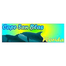 Cape San Blas Florida Bumper Car Sticker