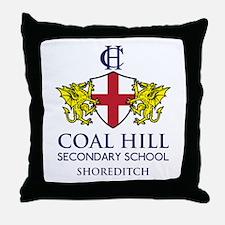 Coal Hill Secondary School (Light) Throw Pillow