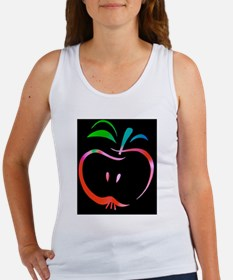 Cute Pink green Women's Tank Top
