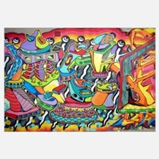 Unique Graffiti Wall Art
