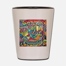 Unique Graffiti Shot Glass