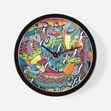 Cute Graffiti Wall Clock