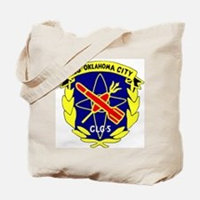 USS Oklahoma City (CLG 5) Tote Bag
