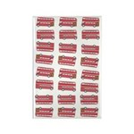 Anglophile Vintage Bus Rectangle Magnet (100 pack)