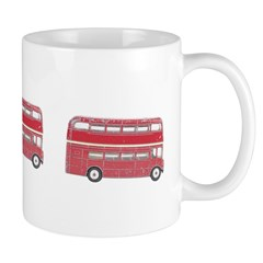 Anglophile Vintage Bus Ceramic Coffee Mug