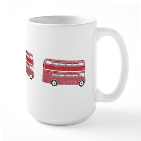 Anglophile Vintage Bus Large Mug (15 oz)