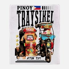Funny Pinay Throw Blanket