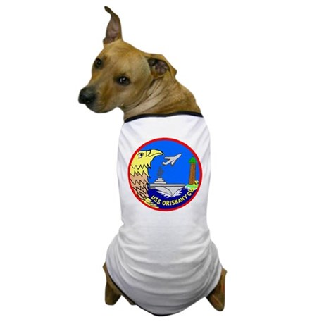 USS Oriskany (CVA 34) Dog T-Shirt