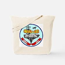 USS Coral Sea (CVA 43) Tote Bag