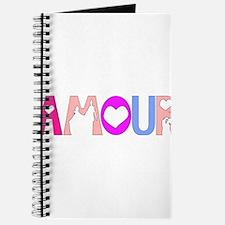 Cool Pink and orange wedding Journal