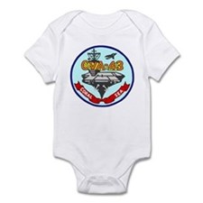 USS Coral Sea (CVA 43) Infant Bodysuit