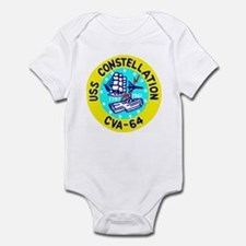 USS Constellation (CVA 64) Infant Bodysuit