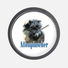 Affenpinscher Name Wall Clock