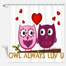 Cute Special valentine day Shower Curtain