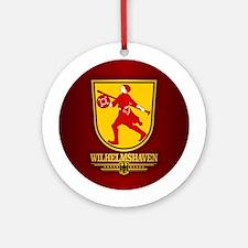 Wilhelmshaven Round Ornament