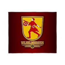 Wilhelmshaven Throw Blanket