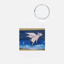 Pigs with wings Keychains