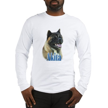Akita Name Long Sleeve T-Shirt